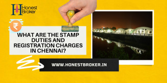 What are the stamp duties and  registration charges in Chennai?