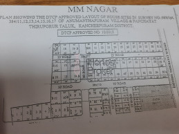 M M Nagar Layout, Approved By Dtcp