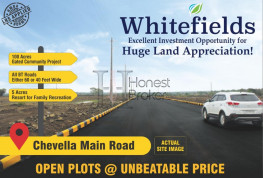 Open Gated Community Plots At Chevella At Negotiable Prices